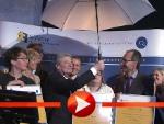 Joachim Gauck und der verflixte Regenschirm