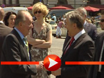 Juan Carlos und Klaus Wowereit