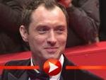 Jude Law posiert auf der Berlinale 2013