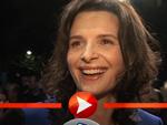 Juliette Binoche: Schreibt sich die Finger wund