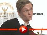 """Freche Posen von Matthias Schweighöfer beim """"Jupiter Award 2012"""""""