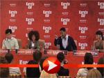 Will Smith mit Frau Jada, Sohn Jaden und Jackie Chan in Berlin