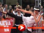 Kerstin Linnartz zeigt ihre Kampfsport-Künste