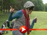 So gut spielt Katja Ebstein Golf