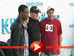 Die Kindsköpfe Adam Sandler, Kevin James und Chris Rock grillen in Berlin