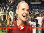 """Kiss-Moderatorin Nora beim Siegerinterview des """"Kiss Cup 2011"""""""