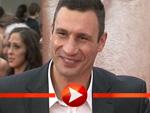 Vitali Klitschko fühlt sich wie Brad Pitt