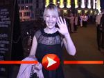 Kylie Minogues sexy Wochenende in Berlin