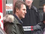 Liam Neeson: Action-Dreh mit Feuer am Berliner Bahnhof Friedrichstraße!