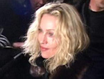 Madonna: Klage am Hals