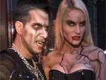 Marc Terenzi und Gina-Lisa Lohfink: Als blutige Vampire in Berlin!