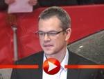 Matt Damon trifft am Berlinale-Teppich ein