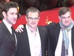 """Matt Damon präsentiert sein Öko-Drama """"Promised Land"""": Wieder Proteste am Berlinale-Teppich!"""