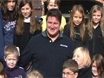 Olympiasieger und Diabetiker: Matthias Steiner macht Kinder glücklich!