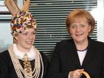 Angela Merkel: Äpfel für die Kanzlerin