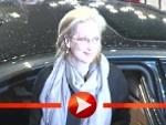 Meryl Streep strahlt im Blitzlichtgewitter der Berlinale 2012