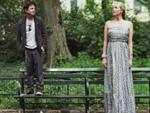 Ungleiches Paar: Michael J. Fox posiert mit Tatjana Patitz