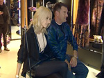 Michalsky Shop Eröffnung: Michael Michalsky schaukelt mit Eva Padberg