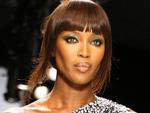 Naomi Campbell: Nervös auf dem Catwalk