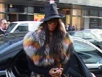 Naomi Campbell: Pelzig in Berlin