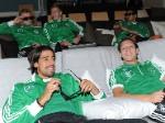 Euro 2012: Deutsche Kicker entspannen bei Spider-Man
