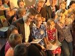 Oliver Bierhoff liest vor: Doris Schröder-Köpf plaudert erstmals Privates