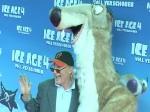 """""""Ice Age 4""""-Premiere bei heißen Temperaturen in Berlin: Otto Waalkes sucht neue Liebe"""