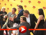 Premiere von Kung Fu Panda 2: Jack Black verprügelt Hape Kerkeling