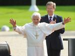 Papst Benedikt XVI.: Hält umstrittene Rede im Bundestag