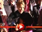 Paris Hilton und ihre sexy Teppich-Show in Oberhausen