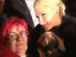 """Paris Hilton mit Pelz und Hund in Oberhausen: """"Ich bin deutsch!"""""""