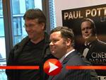 Paul Potts: Posiert für die Presse