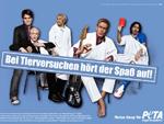 Comedy-Stars und PETA: Gemeinsam gegen Tierquälerei