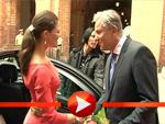 Klaus Wowereit empfängt Prinzessin Victoria und ihren Mann Daniel