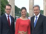 Prinzessin Victoria und Daniel: Händchen halten am Brandenburger Tor!