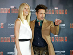 Hollywood in München: Robert Downey Jr. mit Gwyneth Paltrow und Lederhose