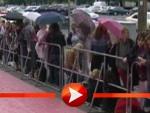 Pattinson-Fans trotzen auch dem Regen