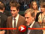 Robert Pattinson posiert neben Oscar-Preisträger Christoph Waltz
