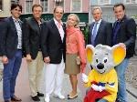 Roger Moore: Hat jetzt auch einen Stern im Europa-Park