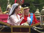 William und Katherine: Heirats-Küsschen auf dem Balkon
