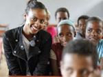 Topmodel Sara Nuru: Ist dankbar, in Deutschland aufgewachsen zu sein