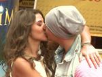 Pietro Lombardi und Sarah Engels: Erst küssen, dann abwischen!