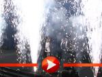 Til Schweiger: Feuerwerk zur Kinoeröffnung