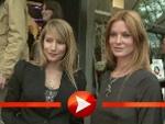Esther Schweins, Eva Habermann und Florentine Lahme posieren bei der Akt-Ausstellung