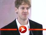 Sebastian Vettel bedankt sich für das Silberne Lorbeerblatt
