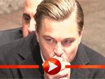 Leonardo DiCaprio friert auf dem Roten Teppich bei der Shutter Island-Premiere