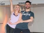 Stefanie Hertel: Zwischen Training und Achterbahn