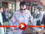 Quentin Tarantino heimlich in Berlin