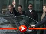 """Tom Cruise besucht die """"Bild""""-Redaktion in Berlin"""