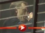Daniel Craig mit Bierchen
